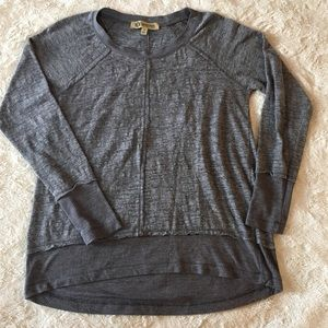 Democracy | lightweight gray sweatshirt S